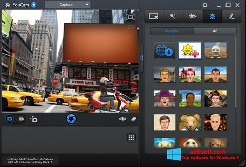 Screenshot CyberLink YouCam per Windows 8