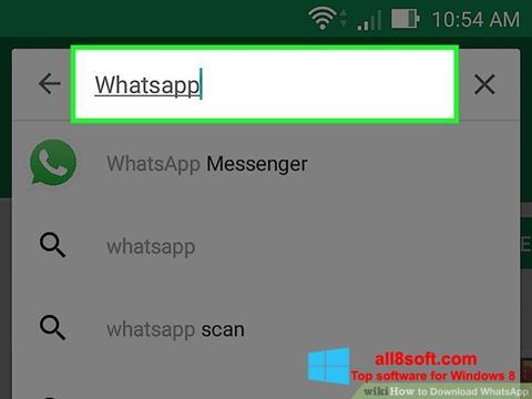 Screenshot WhatsApp per Windows 8
