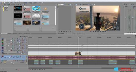 Screenshot Sony Vegas Pro per Windows 8