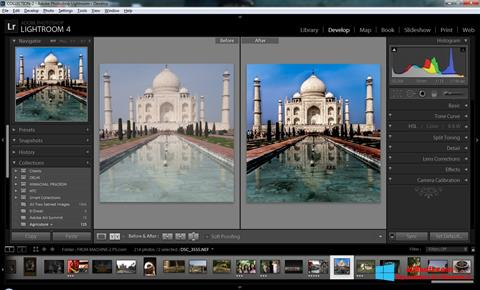 Screenshot Adobe Photoshop Lightroom per Windows 8