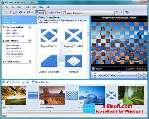 Screenshot Windows Movie Maker per Windows 8
