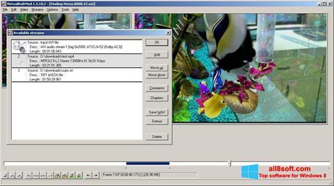 Screenshot VirtualDubMod per Windows 8