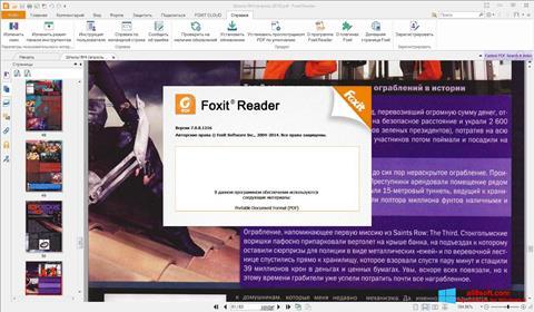Screenshot Foxit Reader per Windows 8