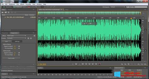 Screenshot Adobe Audition per Windows 8