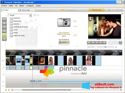 Screenshot Pinnacle VideoSpin per Windows 8