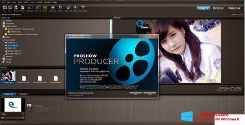 Screenshot ProShow Producer per Windows 8