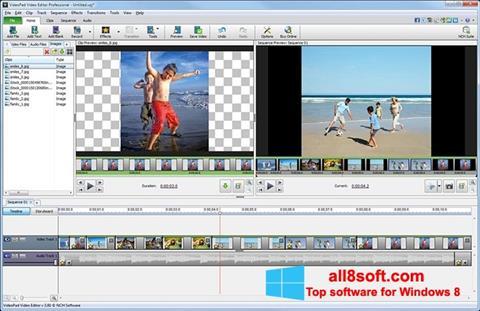 Screenshot VideoPad Video Editor per Windows 8