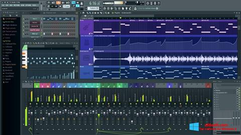 Screenshot FL Studio per Windows 8