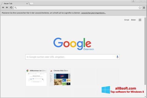Screenshot Google Chrome per Windows 8