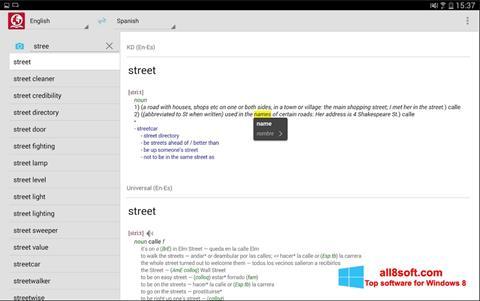 Screenshot ABBYY Lingvo per Windows 8